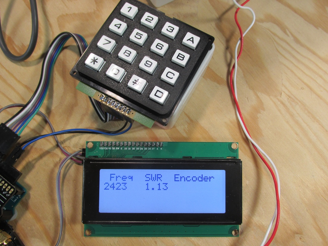 A new project with a RigExpert AA30-Zero antenna analyzer board
