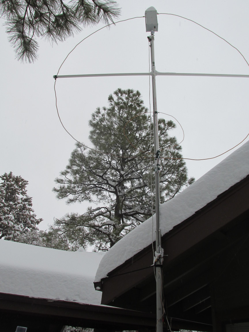 "Amateur radio: New ""large"" small transmitting loop | The Arizona"